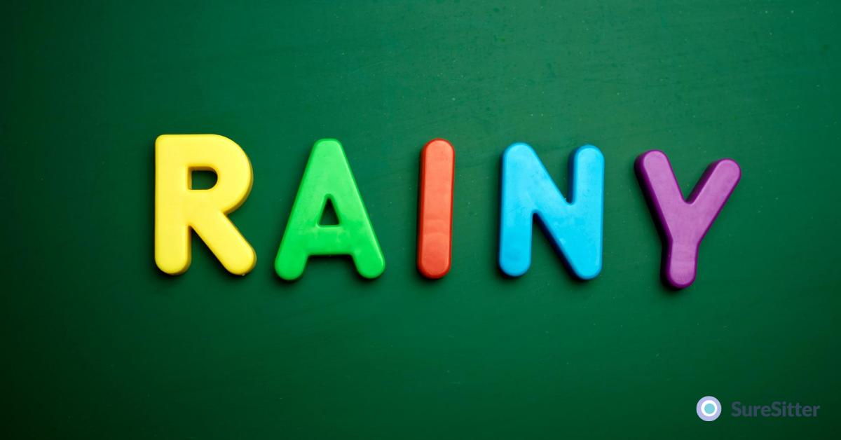 Rainy day activities for children